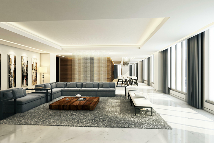 Ritz Carlton-Limestone Apartment